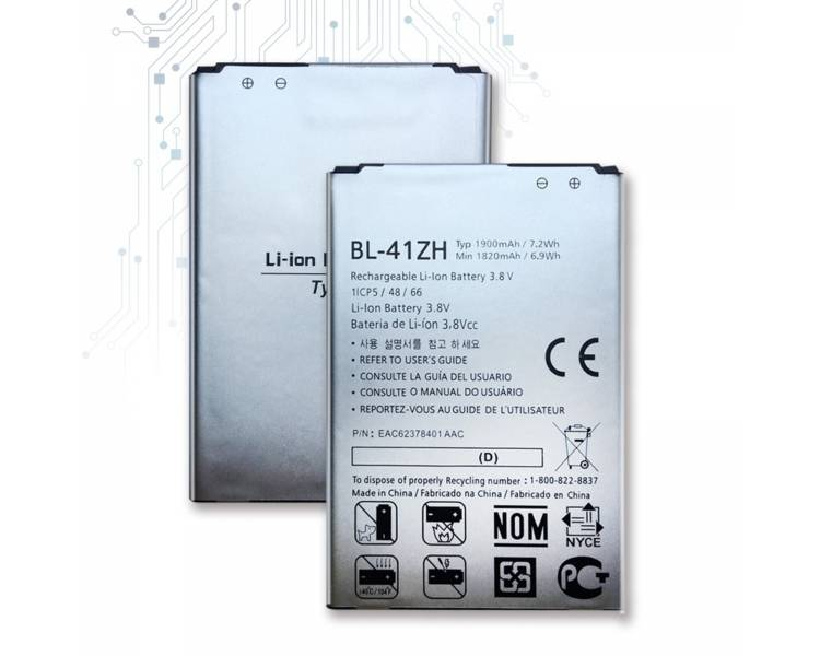 Battery For LG L Fino , Part Number: BL-41ZH