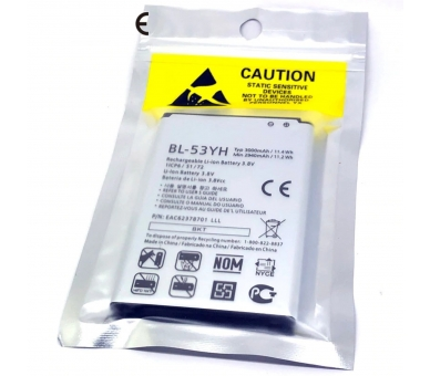 BL-53YH originele accu voor LG G3 OPTIMUS G3 D830 D850 D851 D855 LG - 1