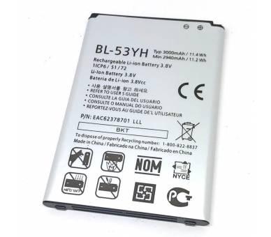 BL-53YH originele accu voor LG G3 OPTIMUS G3 D830 D850 D851 D855 LG - 2