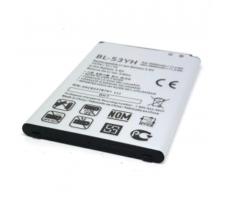 Bateria BL-53YH original para LG G3 OPTIMUS G3 D830 D850 D851 D855 LG - 6