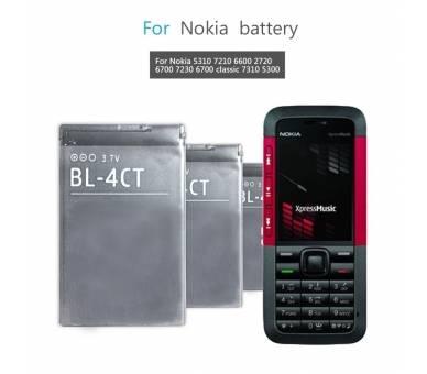 Originele interne batterij BL4CT BL-4CT Nokia 7230 6700 5310 X3  - 3