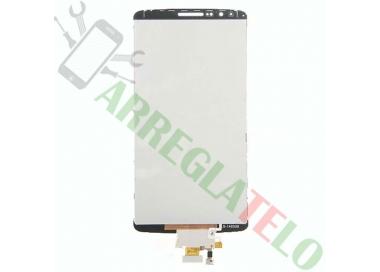 Pantalla Completa para LG G3 D855 Blanco Blanca ARREGLATELO - 3