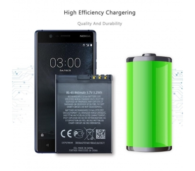 Battery For Nokia 3600 , Part Number: BL-4S  - 4
