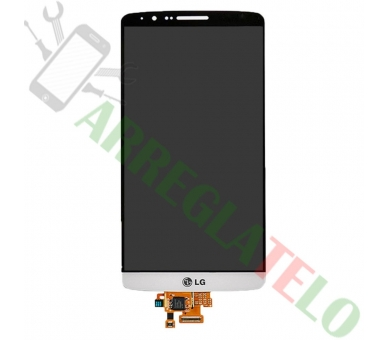 Display For LG G3, Color White ARREGLATELO - 2