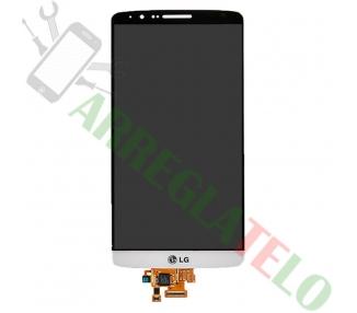 Pantalla Completa para LG G3 D855 Blanco Blanca ARREGLATELO - 2