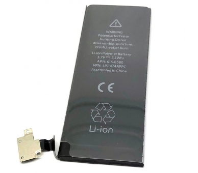 Battery for iPhone 4S, 3.7V 1430mAh - Original Capacity - Zero Cycle  - 3