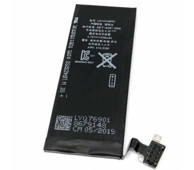 Bateria para iPhone 4S, 3.7V 1430mAh - Capacidad Original - Cero Ciclos  - 1