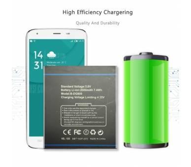 Originele batterij voor DOOGEE Valencia DG800  - 2