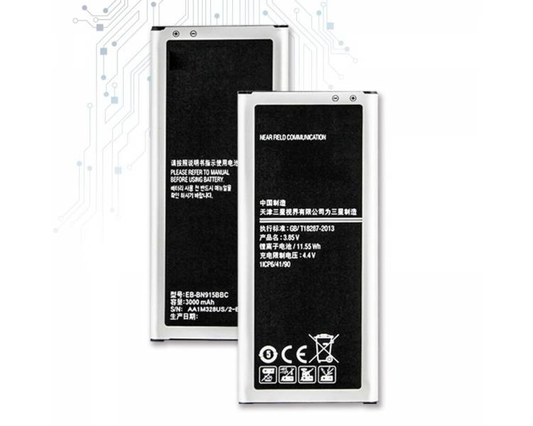 Battery For Samsung Galaxy Note Edge , Part Number: EB-BN915BBC  - 1