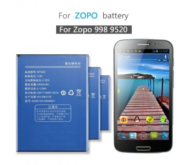 Battery For Zopo ZP998 , Part Number: BT55S  - 3