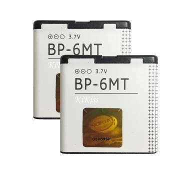 Batterij NOKIA BP-6MT N81 N81 8GB N82 6720 CLASSIC E51 5610 5700 6110 6500 6720  - 1