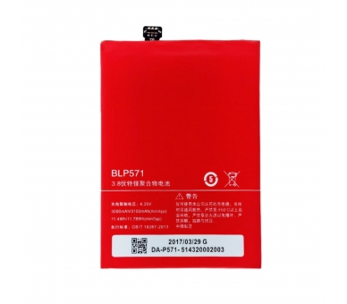 Battery for Oneplus One, Part Number: BLP571  - 2