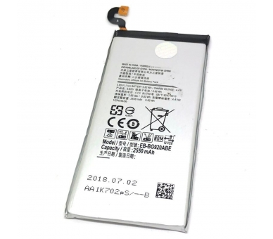 Battery For Samsung Galaxy S6 , Part Number: EB-BG920ABE  - 3