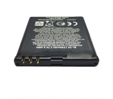 Battery For Nokia X7 , Part Number: BL-5K  - 3