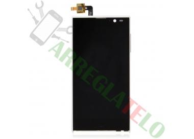 Pantalla Completa para iNew V3 HD Woxter Zielo S11 Blanco Blanca ARREGLATELO - 3