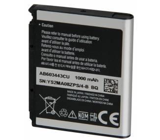 Bateria AB553443CE do SAMSUNG F490 U700 U708 Z370 Z378 Z560 Z568 Z720 Z728