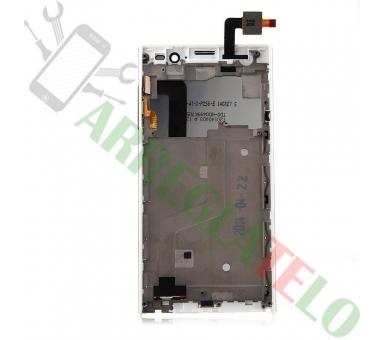 Pełny ekran dla iNew V3 HD Woxter Zielo S11 White White ARREGLATELO - 4