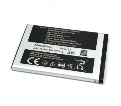 Battery For Samsung Corby , Part Number: AB463651BU  - 2