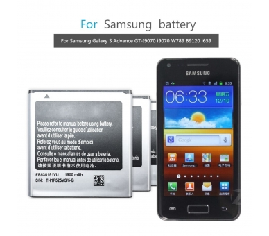 Compatibele batterij voor SAMSUNG EB535151VU GALAXY S ADVANCE i9070  - 3