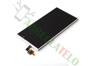 Pantalla Completa para iNew V3 HD Woxter Zielo S11 Blanco Blanca ARREGLATELO - 6