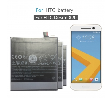 Battery For HTC Desire 820 , Part Number: BOPF6100  - 3