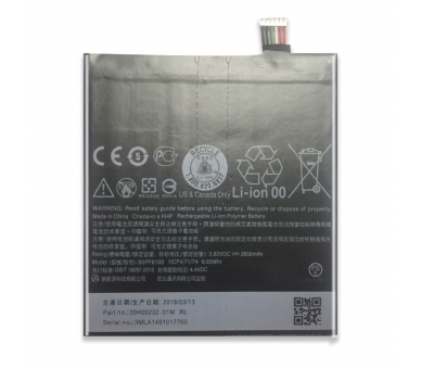Battery For HTC Desire 820 , Part Number: BOPF6100  - 2