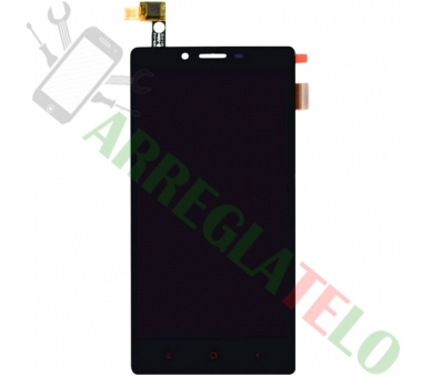Vollbild für Xiaomi Redmi Note 4G Note 3G 1S Schwarz Schwarz ARREGLATELO - 2