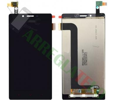 Vollbild für Xiaomi Redmi Note 4G Note 3G 1S Schwarz Schwarz ARREGLATELO - 4