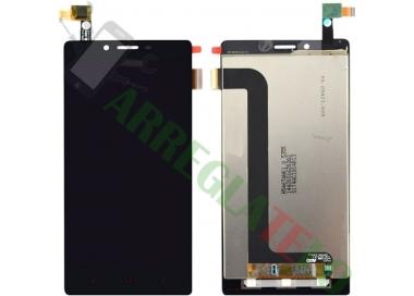 Pantalla Tactil Digitalizador Para LG Optimus L5 2 II ll E460 NEGRA NEGRO ARREGLATELO - 4