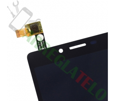 Vollbild für Xiaomi Redmi Note 4G Note 3G 1S Schwarz Schwarz ARREGLATELO - 5