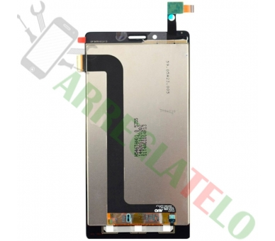 Volledig scherm voor Xiaomi Redmi Note 4G Note 3G 1S Zwart Zwart FIX IT - 3