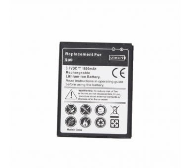 Batterij Samsung GALAXY S2 II I9100 I9105 I9103 HIGH CAPACITY 1800MAH EB-F1A2GBU  - 5