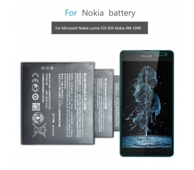 Battery For Nokia Lumia 535 , Part Number: BL-L4A  - 3