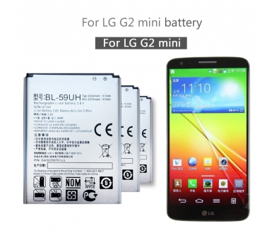 Originele batterij voor LG Optimus G2 Mini D620 BL-59UH 2370mAh 3.8V  - 3