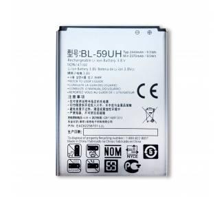 Bateria Original para LG Optimus G2 Mini D620 BL-59UH 2370mAh 3.8V  - 2