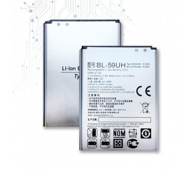 Originele batterij voor LG Optimus G2 Mini D620 BL-59UH 2370mAh 3.8V  - 1
