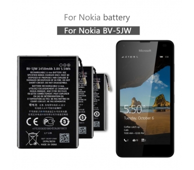 Battery For Nokia Lumia 800 , Part Number: BV-5JW  - 3