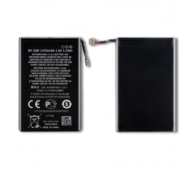 Battery For Nokia Lumia 800 , Part Number: BV-5JW  - 4