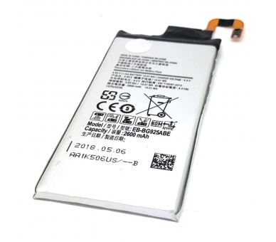 Battery For Samsung Galaxy S6 Edge , Part Number: EB-BG925ABA  - 5