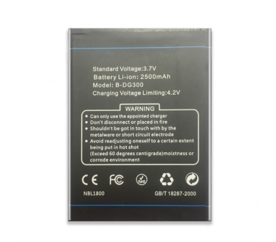 Battery For Doogee Voyager , Part Number: B-DG300  - 2