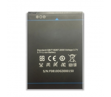 Battery For Doogee Voyager , Part Number: B-DG300  - 4