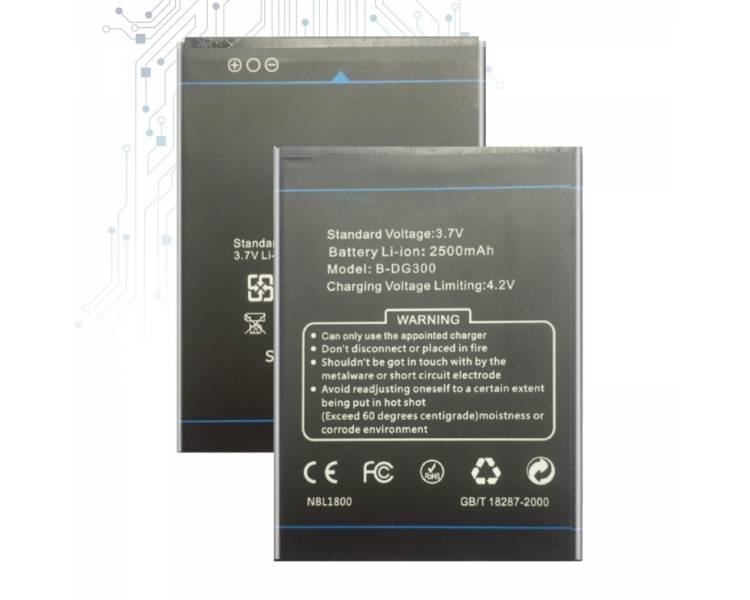 Battery For Doogee Voyager , Part Number: B-DG300  - 1