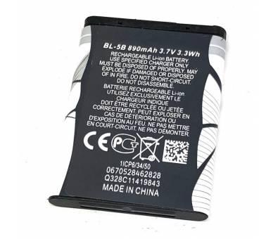 BL5B BL-5B batterij voor NOKIA 2135 2366i 2365 i 3220 7360 N80 N90 N80 en meer  - 3