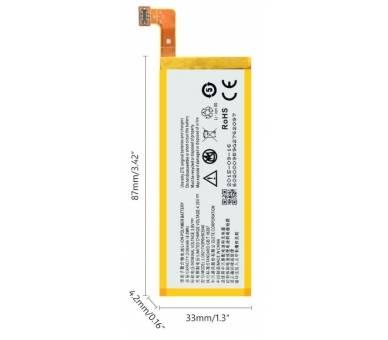 Battery For ZTE Blade Apex 2 , Part Number: LI3820T43P6H903546-H  - 4