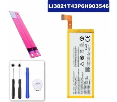 Battery For ZTE Blade Apex 2 , Part Number: LI3820T43P6H903546-H  - 1