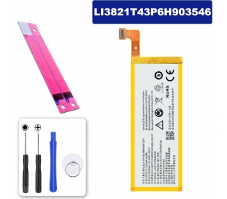 Battery For ZTE Blade Apex 2 , Part Number: LI3820T43P6H903546-H  - 1