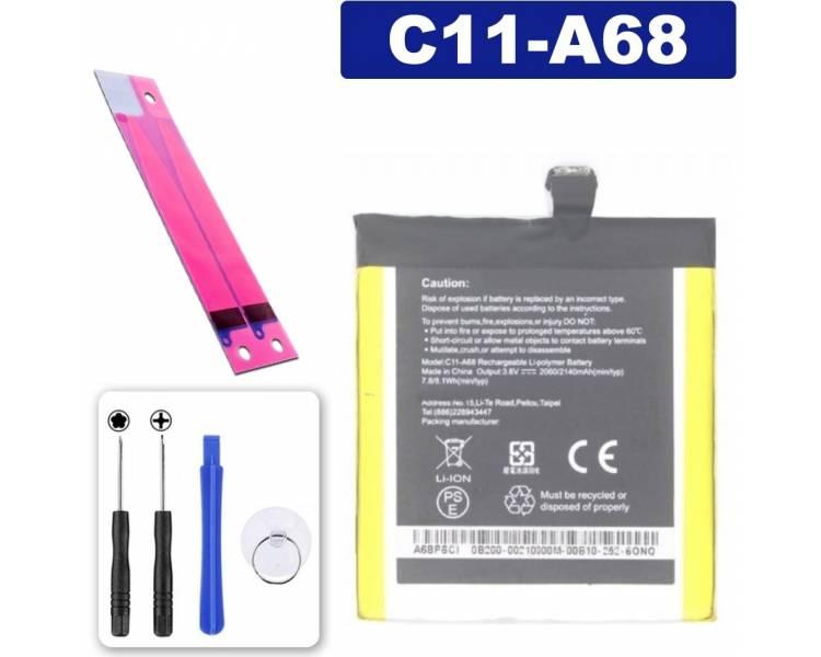 Battery For Asus Padfone 2 , Part Number: C11-A68 ARREGLATELO - 1