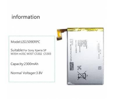 Originele batterij voor Sony Xperia SP C5302 C5303 C5306 LIS1509ERPC  - 3