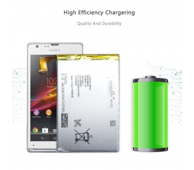 Battery For Sony Xperia SP , Part Number: LIS1509ERPC  - 5