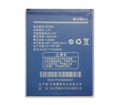 Interne batterij ZOPO 780 6560 ZP780 ZP6560 BT57S CAPACITEIT 1800 MAH  - 1